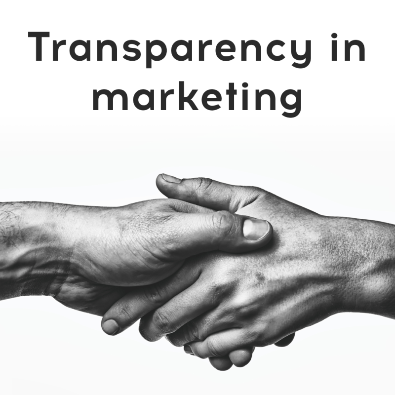Growth and Importance of Transparency in Marketing - MAEUR
